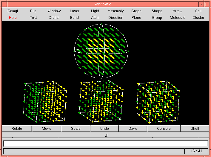 Image showing occupancy rules for sphere and conventional cell volumes